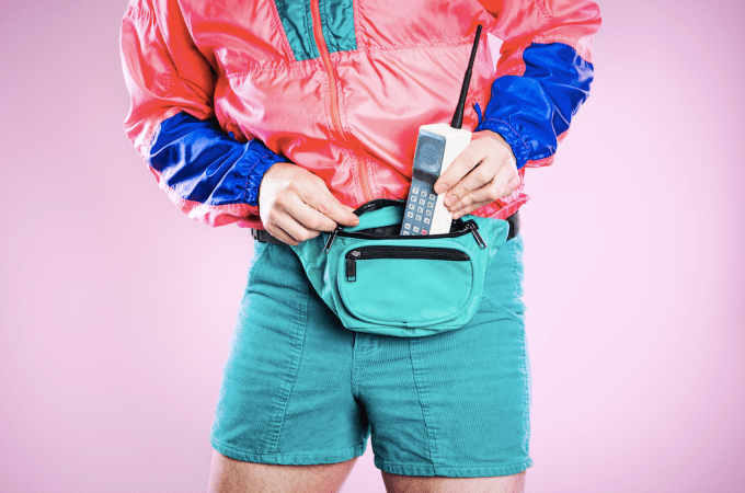 Fanny Packs of the 80s
